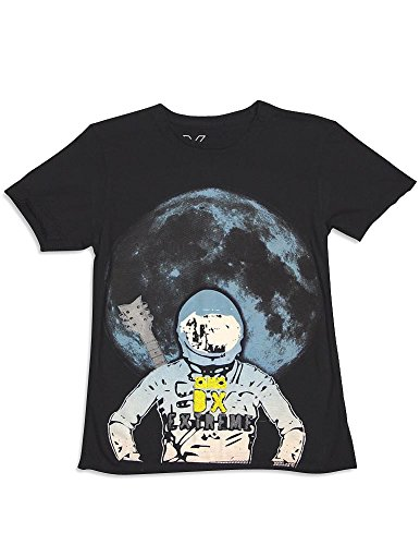 DX-Xtreme - Little Boys Short Sleeve Astronaut T-Shirt, Black 31052-7