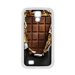 Milk Chocolate Bar Gold - Samsung Galaxy S4 Glossy White Case