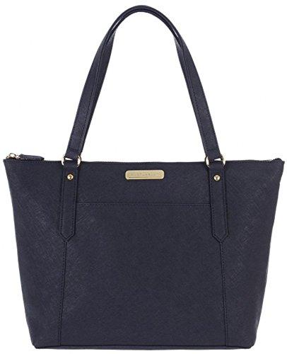 Options W11 £99 blue Bag Navy Handbag Portobello Leather Colour Saffiano RRP Naomi Shopper Tote Textured 5 pwWAndPRWq