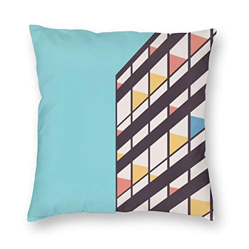 Le Corbusier Sofa Bed - Emliyma Le Corbusier Throw Pillow Covers Decorative Cotton Cushion Cover Outdoor Sofa Home Pillow Covers 18x18 Inch