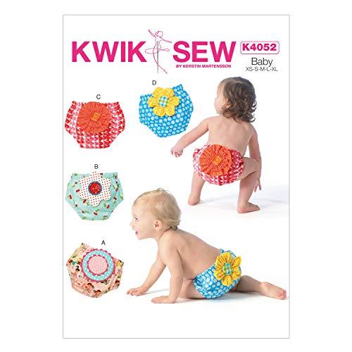 (KWIK-SEW PATTERNS K4052 Baby Diaper Covers )