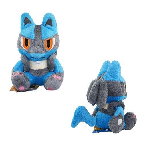 Pokemon Lucario 12cm Soft Plush Stuffed Doll Toy 448