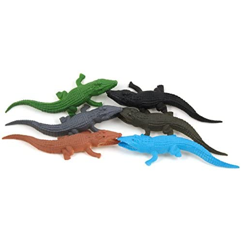 Crocodile Toys for Kids (Pack of 6 Pieces)  Realistic