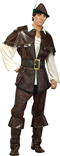 Game Of Thrones Costumes Designer (Forum Novelties Men's Designer Collection Robin Hood Costume, Multi, X-Large)