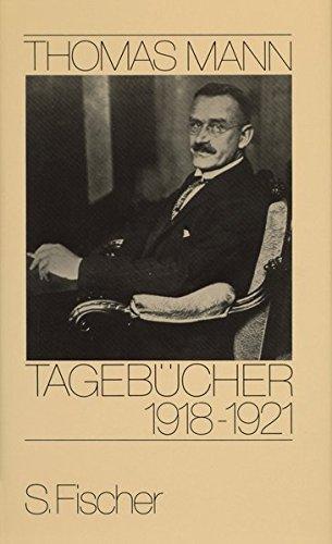 Tagebücher 1918-1921 (Thomas Mann, Tagebücher in zehn Bänden)