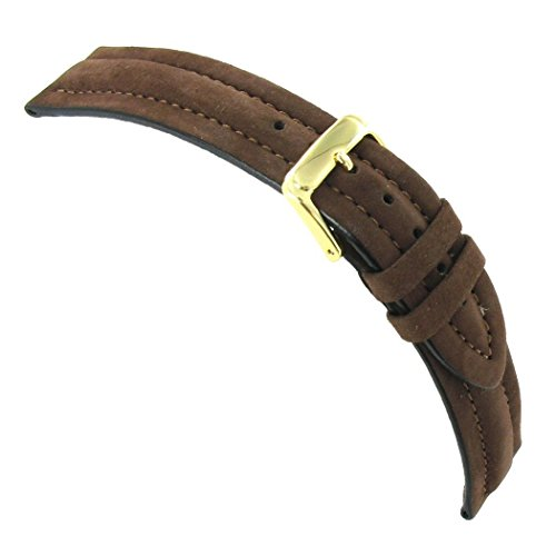 20mm-speidel-brown-suede-bounty-leather-padded-stitched-watch-band