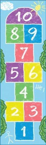Colorful Pastel Indoor Hopscotch Mat