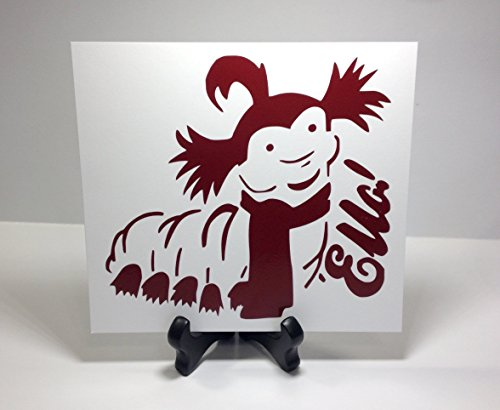 Labyrinth The Worm Wall Art, Labyrinth Decals, Labyrinth Stickers, Caterpillar Decal Sticker