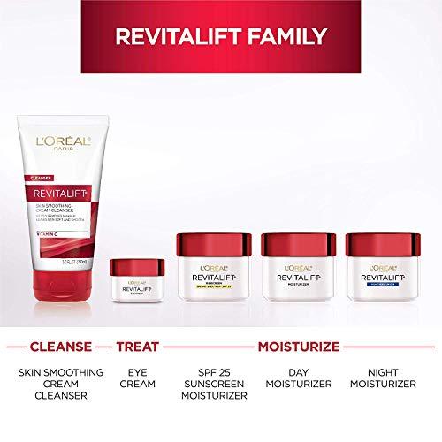 41ii5NXbV6L - L'Oreal Paris Skincare Revitalift Anti-Wrinkle and Firming Eye Cream Treatment with Pro-Retinol Fragrance Free 0.5 oz.