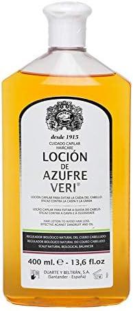 AZUFRE VERI locion 400 ml: Amazon.es: Belleza