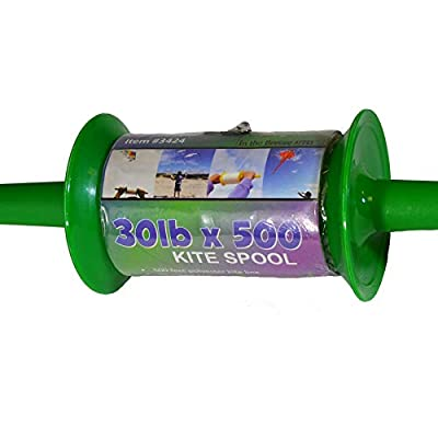 In the Breeze Kite Spool - 30 LB x 500-Feet - Twisted Kite Line: Garden & Outdoor