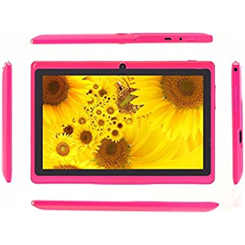 7 Tablet Pc Android 4.4 Google A33 Quad-Core 1G-16Gb Bluetooth Wifi Tablet Pc^.Pink Coupons