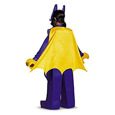 Batgirl LEGO Movie Prestige Costume, Purple, Small (4-6 Years): Toys & Games
