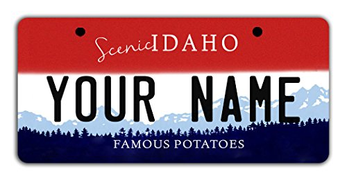 Idaho License Plate - BleuReign Personalize Your Own Idaho State Bicycle Bike Stroller Children's Toy Car 3