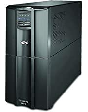 APC 2200VA Smart-UPS with SmartConnect, Pure Sinewave UPS Battery Backup, Line Interactive, 120V Uninterruptible Power Supply (SMT2200C)