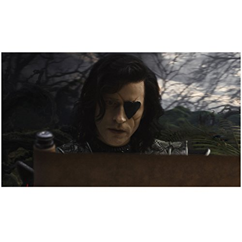 Alice in Wonderland Crispin Glover as Knave of Hearts with scroll 8 x 10 Inch Photo (Wonderland Scroll)