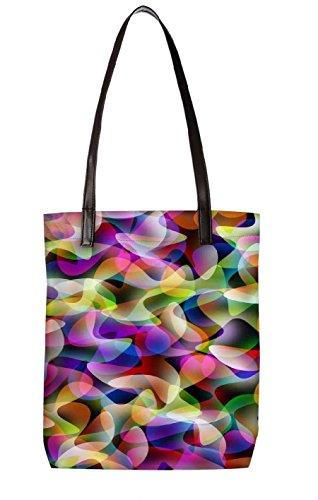 Borsa Da Spiaggia Snoogg, Multicolore (multicolore) - Ltr-bl-2425-totebag