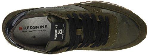noir Uomo Isope Redskins Vert Sneaker Kaki XA06p