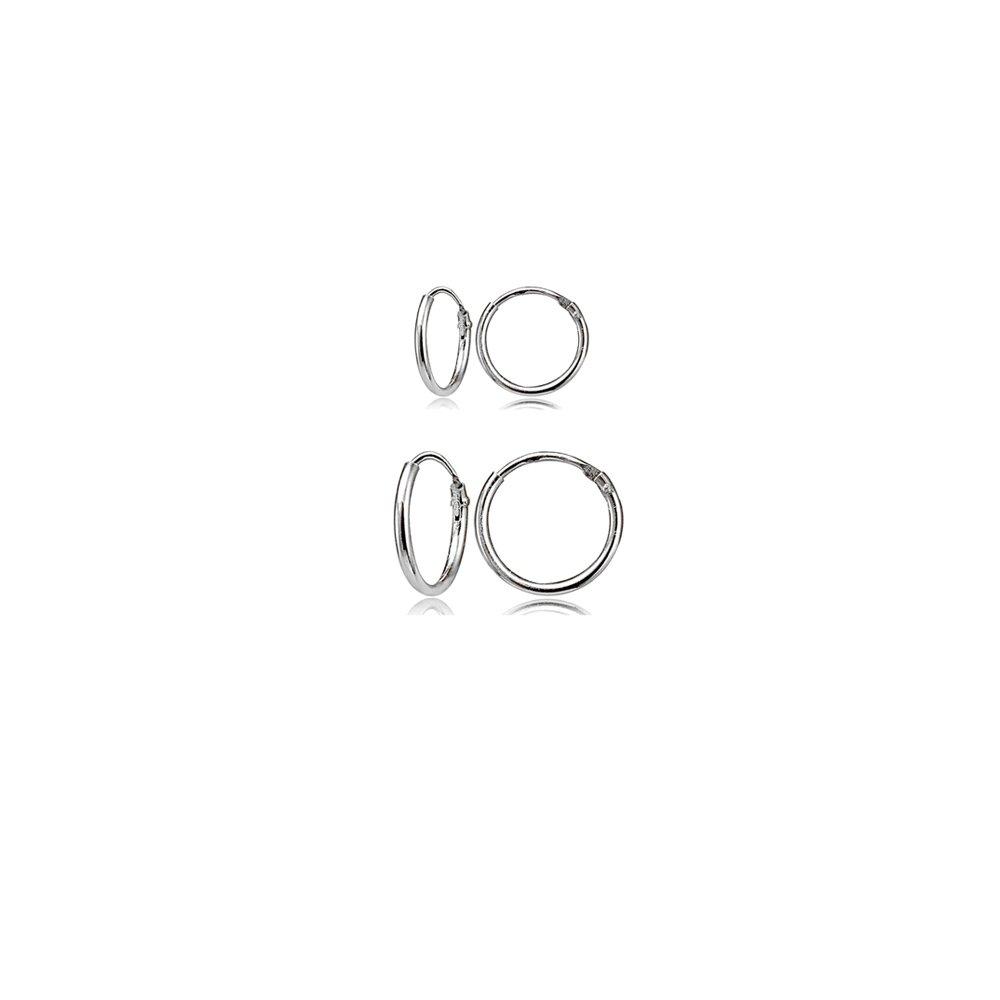 3 Pair New Simple Metal Small Circle Hoop Earrings Shiny Fashion Brand Jewellery For Women And Men 316l S.steel Earrings Set Earrings
