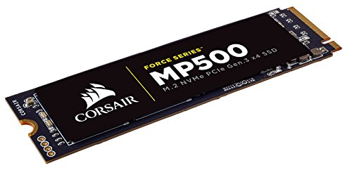 CORSAIR FORCE Series MP500 480GB NVMe PCIe Gen3 x4 M.2 SSD Solid State Storage, Up to 3,000MB/s