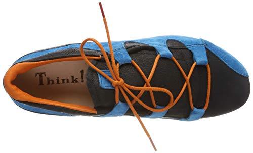 Think pool De Zapatos Para Brogue Menscha kombi 93 Cordones Mujer 484076 qqw4xpTUa