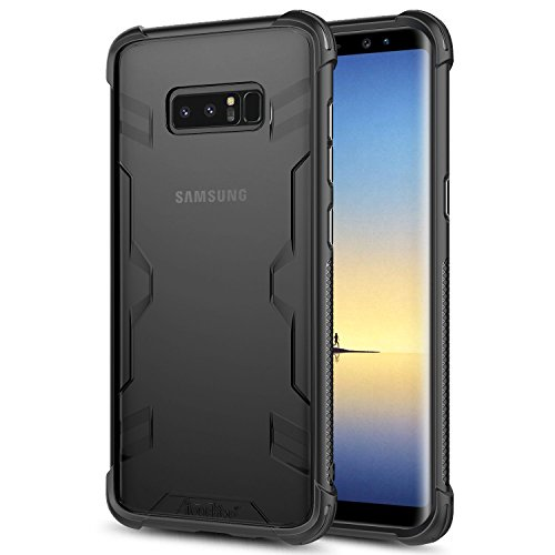 Atouchbo case Compatible for Galaxy Note 8, [Shock Reduction] Reinforced Corner TPU Bumper +Hard PC Back Cover Military Grade Extreme Drop Tested Heavy Duty Protective Cover for Samsung Galaxy Note 8