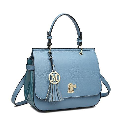 Bags Satchel 1832 Miss Bag Crossbody Pu Top For Handle Casual Tassel Ladies Totes Shoulder Leather Women's Lulu be WarYwqva