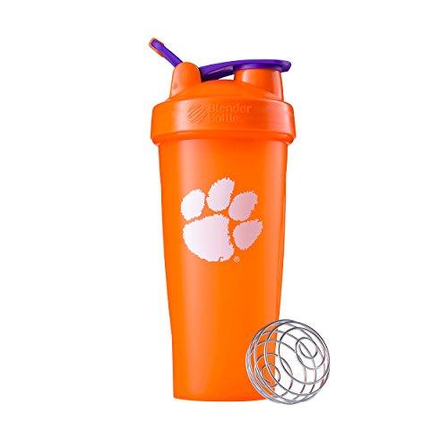 - BlenderBottle Collegiate Classic 28-Ounce Shaker Bottle, Clemson University Tigers - Orange/Orange