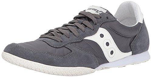 Saucony Originals Mens Bullet Classic Sneaker, Cr?me - gris, 46 D(M) EU/10.5 D(M) UK