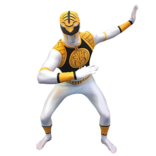 Power Ranger White - Large Fancy -