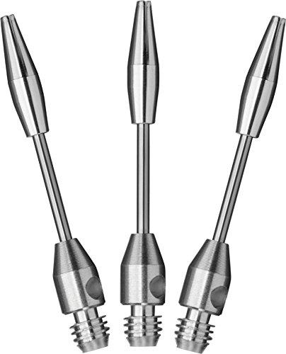 Viper Steel Wire Dart Shaft: Short (SH), Silver, 3 Pack (Shaft Short)