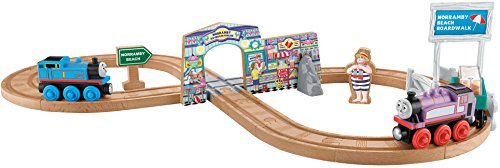 Fisher-Price Thomas & Friends Wooden Railway Summer Day Beach Set