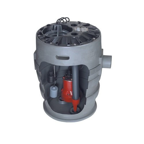 Liberty Pumps P372LE41-2/A2-EYE 1/2 hp Pre-Assembled Simplex Sewage System with NightEye Technology, 25' Cord and 2'' Discharge by Liberty Pumps