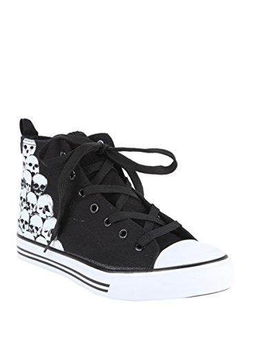 Stacked Skulls Hi Top Sneakers