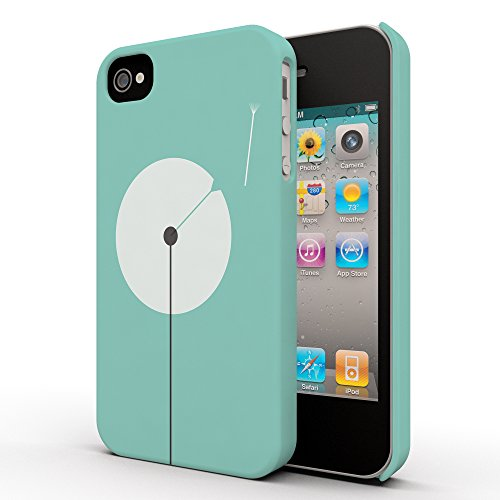 Koveru Back Cover Case for Apple iPhone 4/4S - Green Vector losing it