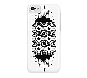 6eyes iPhone 5c White Barely There Phone Case - Design By FSKcase?