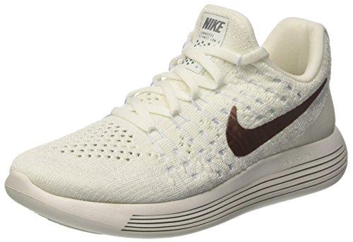 X white Blue 2 Nike Running Blanc Red De Lunarepic Cassé W Low Plore Fk Femme hydrogen Bronze mtlc Chaussures OqqHUw
