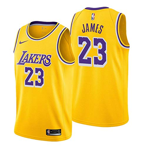 LA Lakers NEW 2019 LeBron James Basketball Jersey NBA Gold Purple White  Black 61f9bf299
