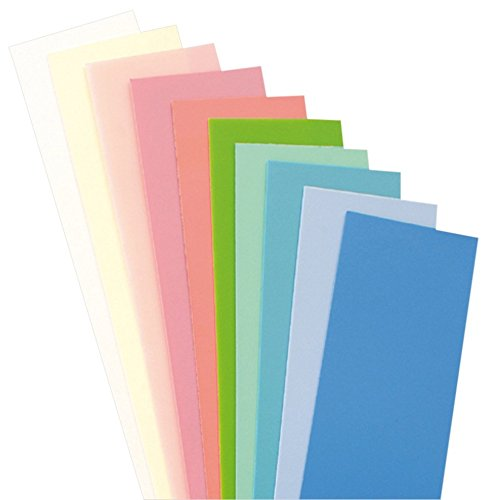 efco 3516110 Wachs, 20 x 5 x 0,05 cm, pastell mix
