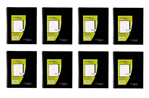 (Mead Cambridge Limited Business Notebook Action Planner, 8-Pack (06064))