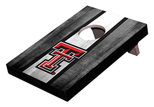 Wild Sports NCAA College Texas Tech Red Raiders Mini Cornhole Game