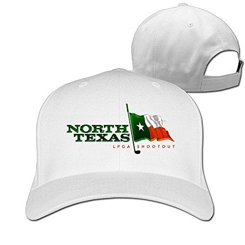 XSSYZ Unisex LPGA Logo Adjustable Baseball Caps White