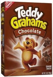 Nabisco, Honey Maid/Teddy Grahams, Chocolate, 10oz Box (Pack of 4)