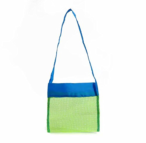Small Mesh Tote Bag Clothes Toys Carry All Sand Away Beach Bag Stonges