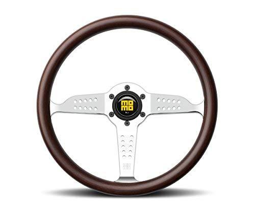 MOMO Steering Wheel Heritage Super Grand Prix Mahogany Wood 350mm NEW GRA35WDOP