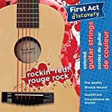 First Act Discovery Boys Guitar Strings - Rockin Red