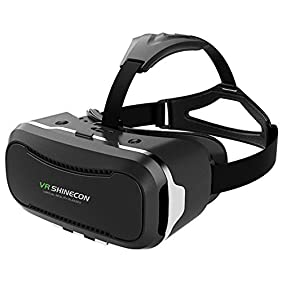 3D VR Headset, VersionTech 2nd 360° Viewing Immersive Virtual Reality VR Glasses Goggle Box for 3D Movies Video Games, Compatible with iPhone 7 Plus/ 6s Plus Samsung Series and Other Smartphone Device