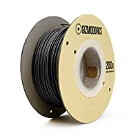 Gizmo Dorks Carbon Fiber Fill Filament for 3D Printers 1.75mm 200g by Gizmo Dorks