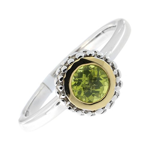 0.5 Ct Peridot Ring - 9