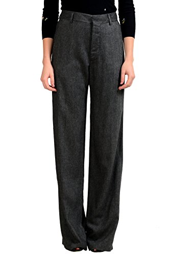 Dsquared2 Women's Wool Gray Dress Pants US 4 IT 40